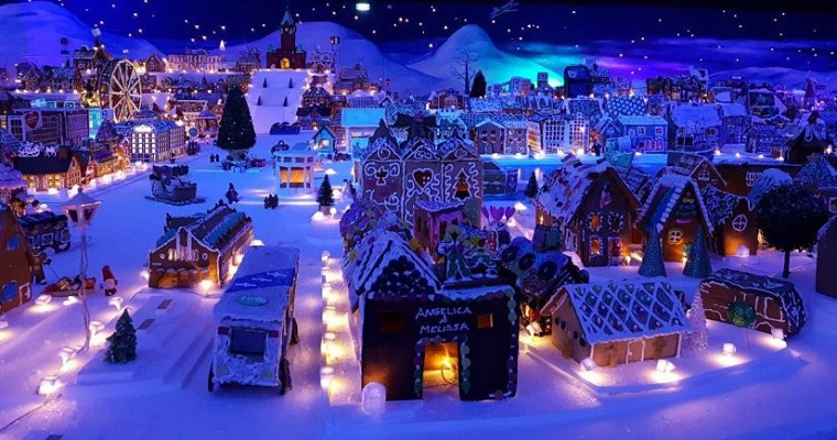 The world's largest Gingerbread Town