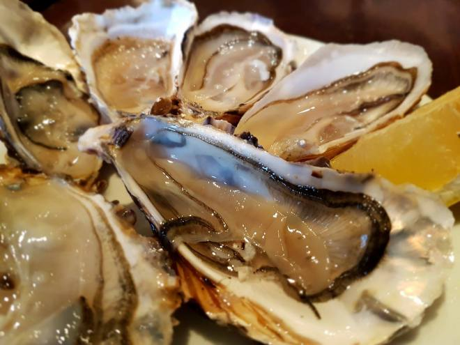 Delicious fresh oysters at Charolais. Food tour Paris, France. Withlocals