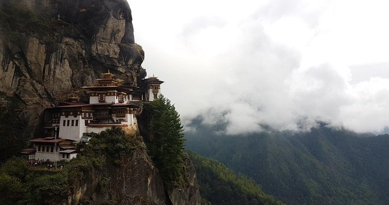 Hiking to Tiger's Nest