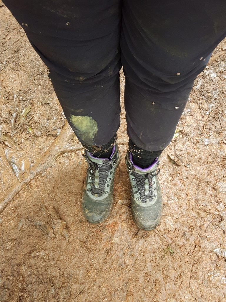 No need to dress up nicely for the Chimp Tracking in Kibale Forest National Park, Uganda.
