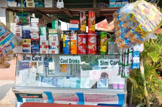 Jedzenie, picie, papierosy, kart SIM - mały wielki kiosk :)
