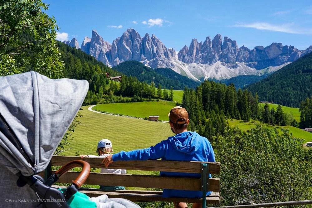 Val di Funes, Dolomity, Włochy, wakacje z dziećmi