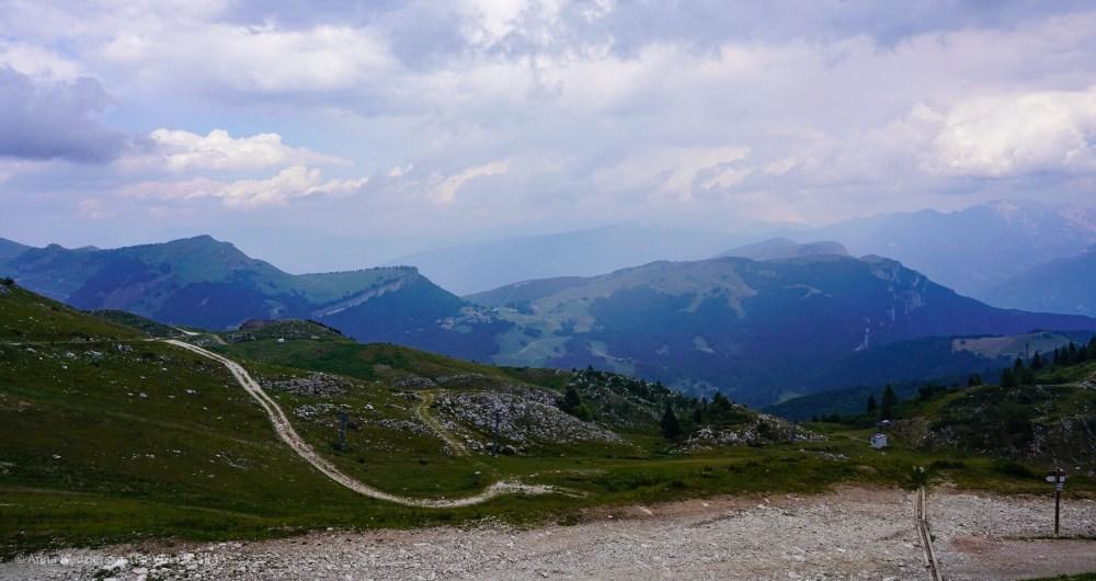 Widok ze szczytu Monte Baldo