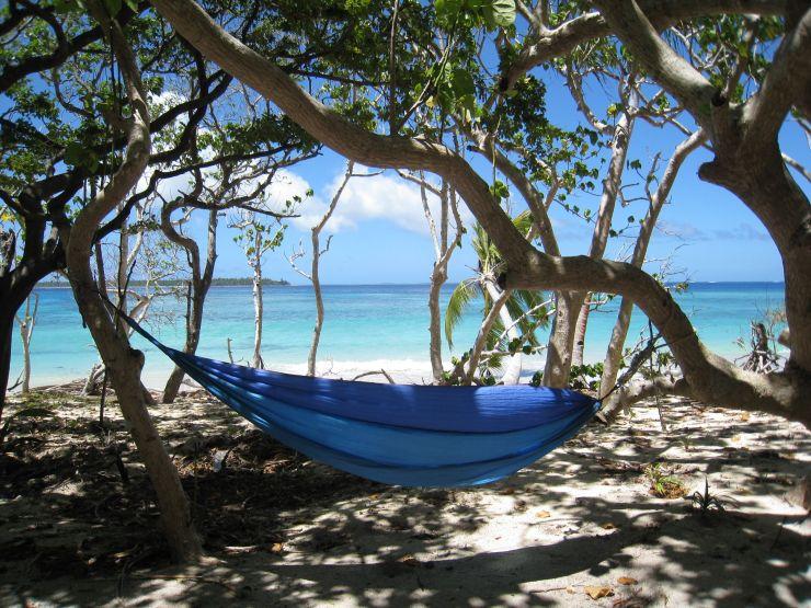 Haa'pai - Uoleva Is - Serenity Resort - Hammock & Beach