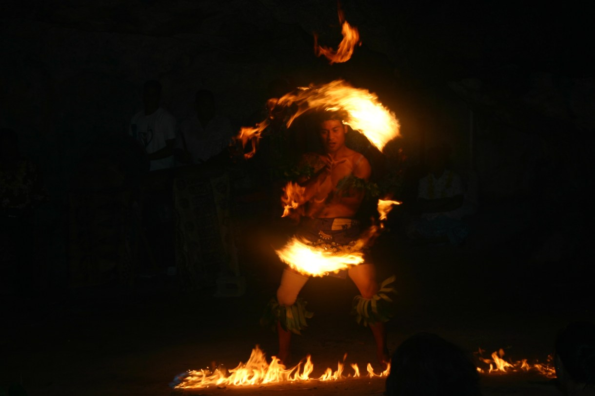 Tongan Fire Dancer