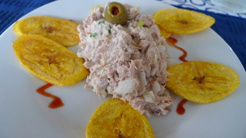 P1010958 - Tuna Salad & Plantain