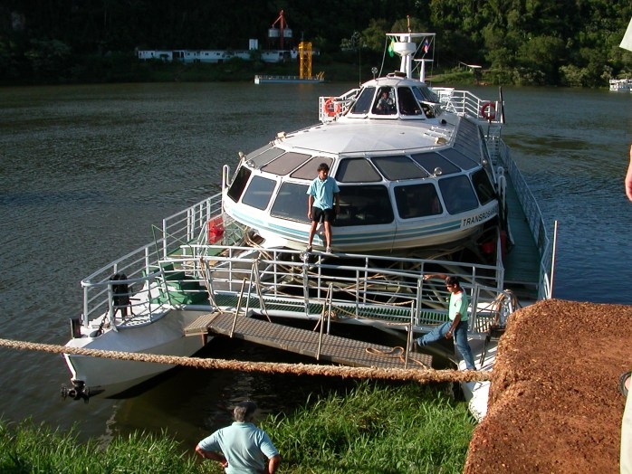 Paraguay Pontoon Boat