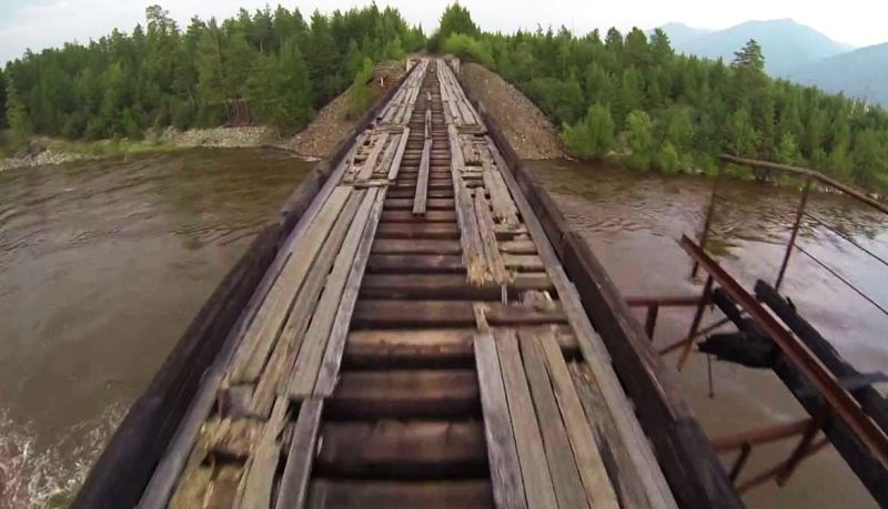 Scariest Bridge In The World