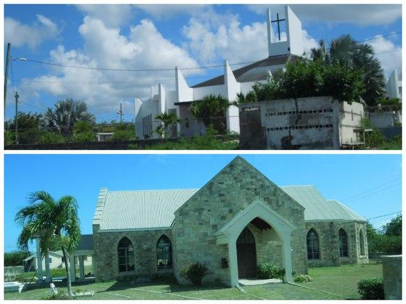岛上众多的教堂
