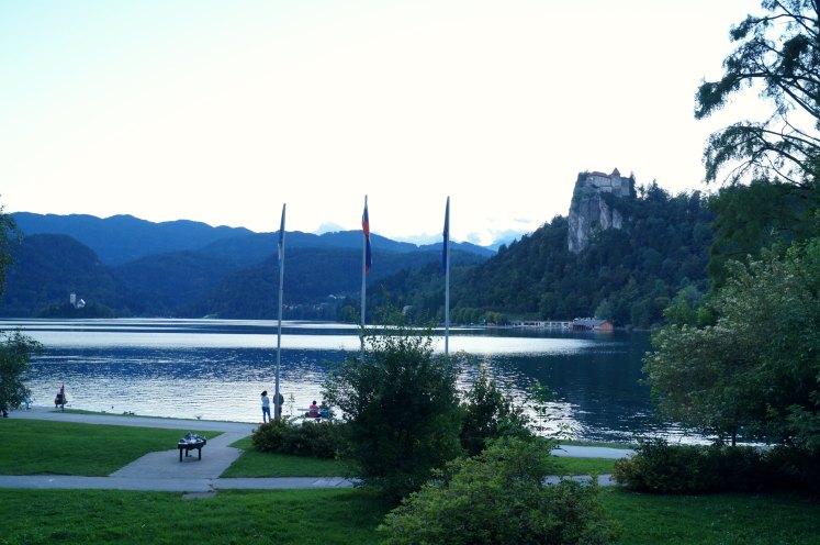 Kasteel van Bled en het meer van Bled