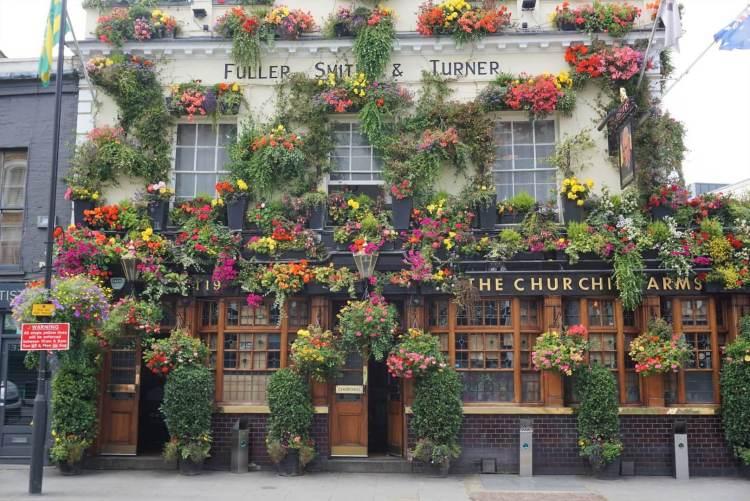 Kensington Church Street Londen