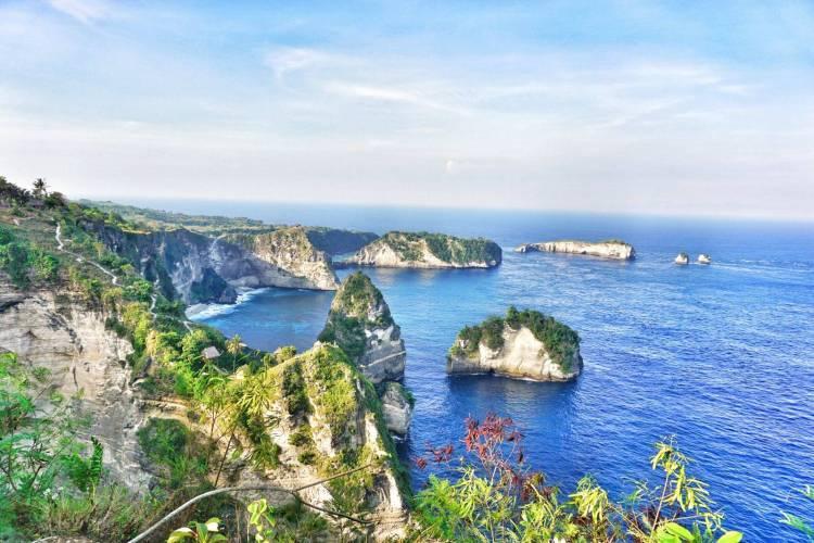 Uitzicht Nusa Penida