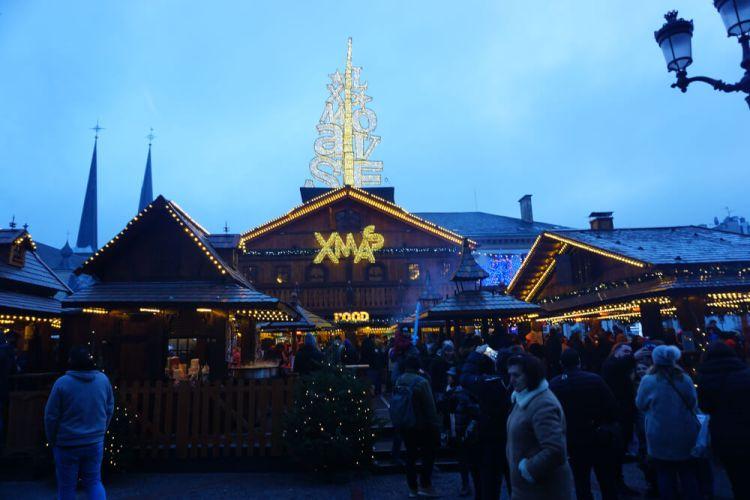 Kerstmarkt Luxemburg