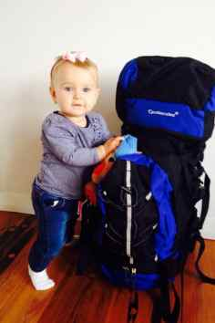 backpacking baby