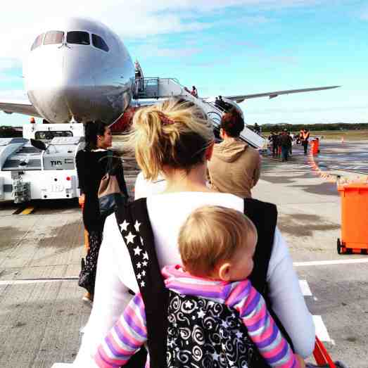 Maintain a baby's routine whilst travelling