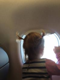 Top tips for flying with a toddler