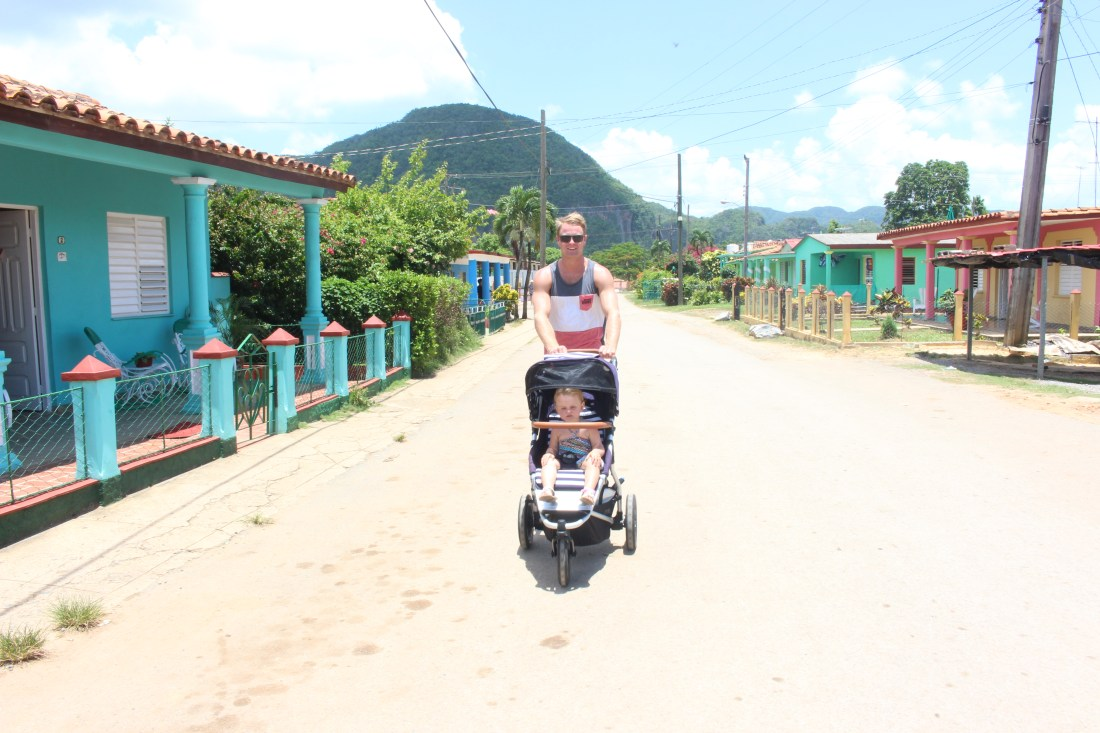 Vinales with a toddler