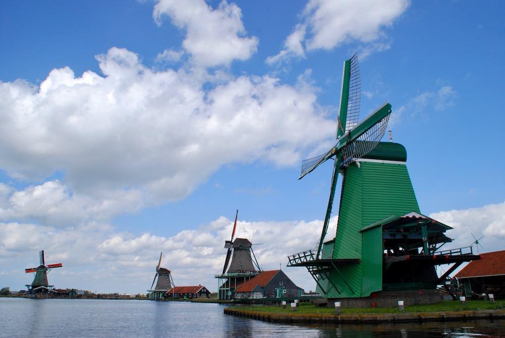 Zaanse Schans Zaandijk Nederland