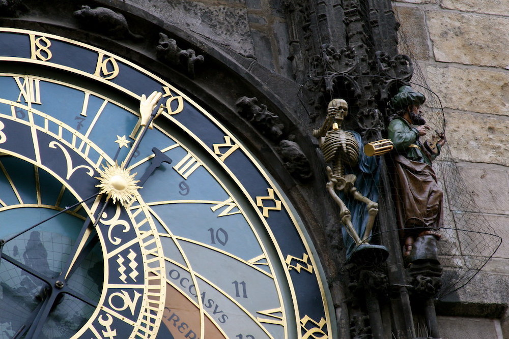 Astronomische Klok Praag Tsjechië