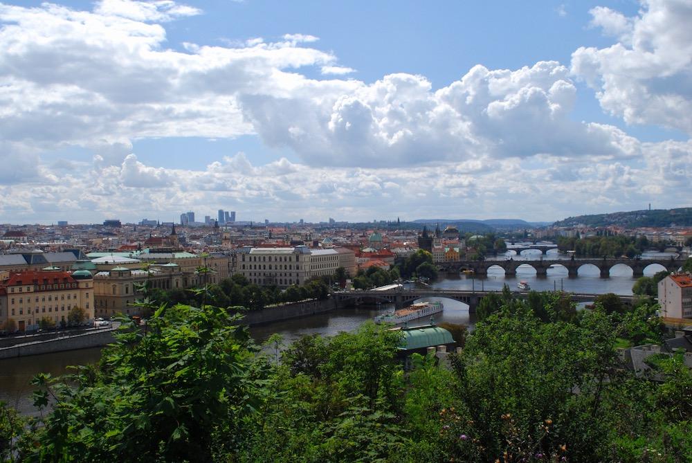 Moldau Praag Tsjechië
