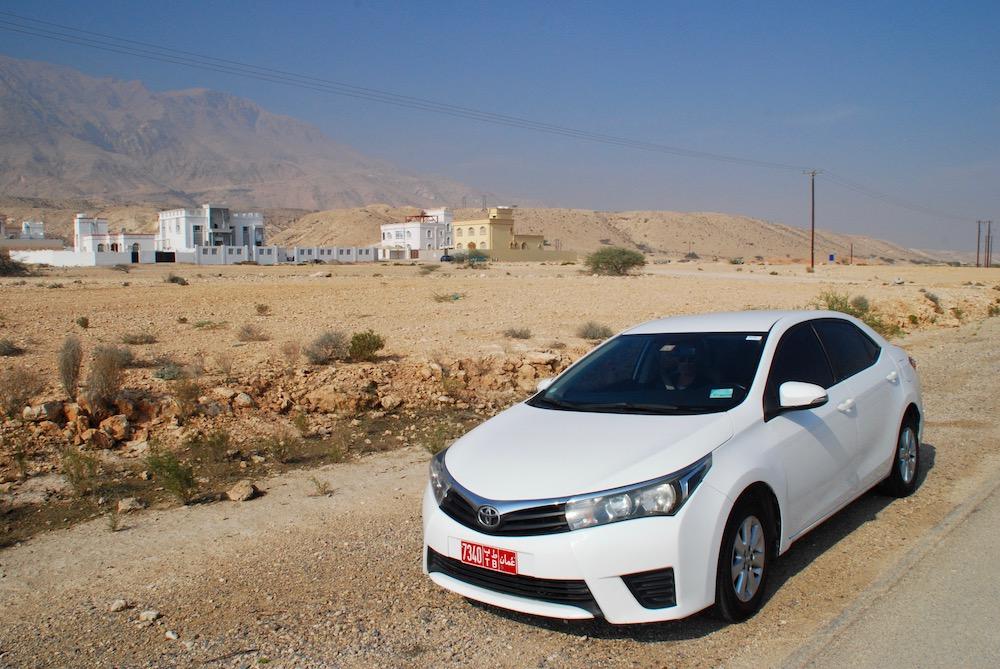 Auto huren op vakantie: Roadtrip  Oman