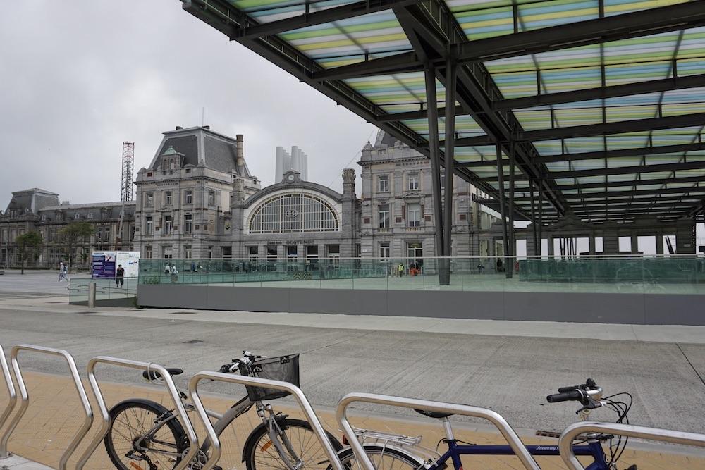 Station Oostende België