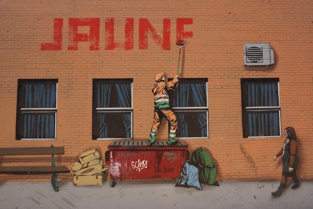 Street art Oostende Belgie