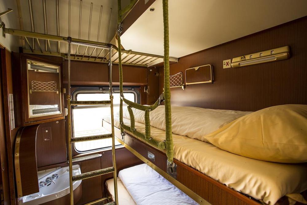 Train Lodge Amsterdam Nederland