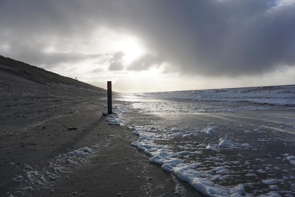 Strandwandeling Zandvoort aan Zee naar Noordvoort