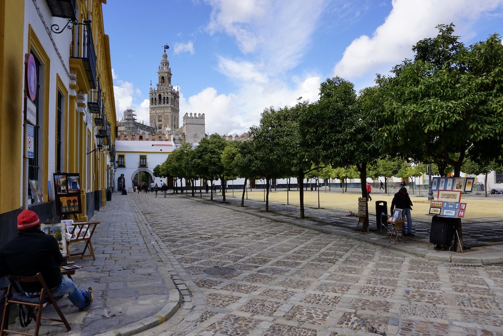 Giralda toren Sevilla