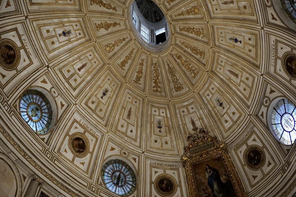 Plafond kathedraal van Sevilla