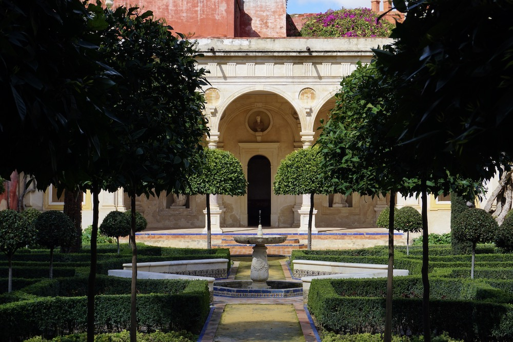 Tuinen Casa de Pilatos Sevilla
