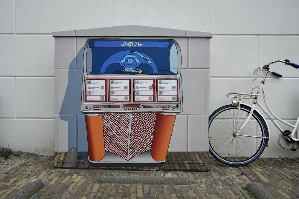 Elektriciteitskast Delft