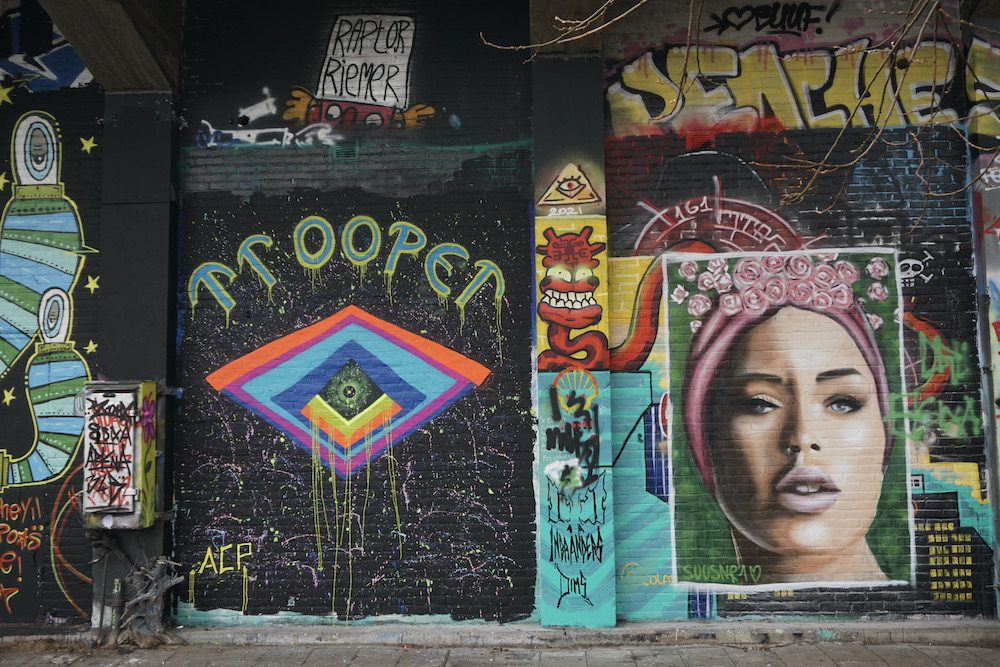 Street art Amsterdam NDSM