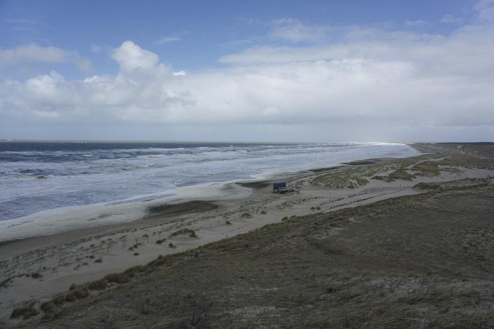 Uitzicht panoramaduin Petten aan Zee