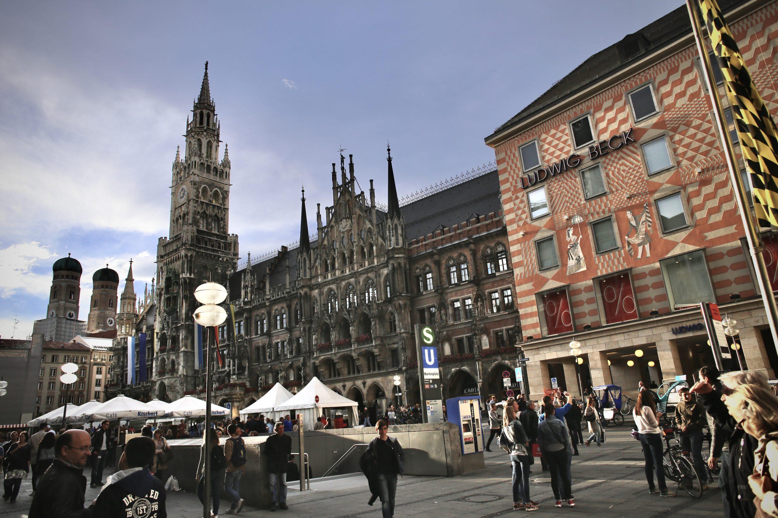 Rathaus, Marienplatz, Munich, Bavaria, Germany
