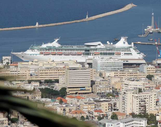 Middle East Cruise: Vision Of The Seas Arrives to Haifa