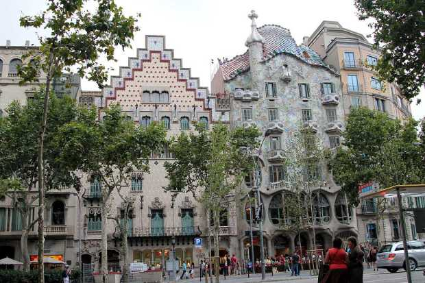 Gaudi Architecture in Barcelona: Casa Batlló