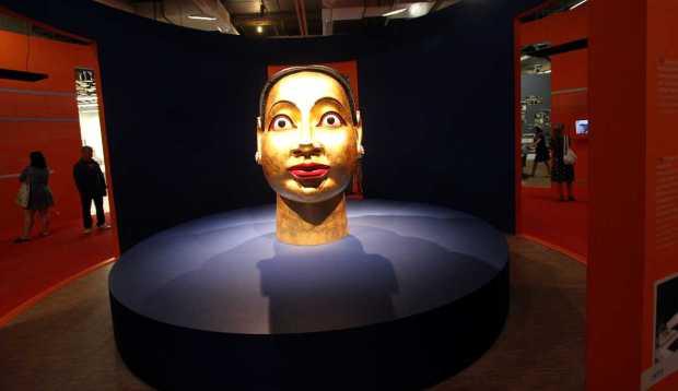 Paris-Dehli-Bombay Exhibition, Centre Pompidou