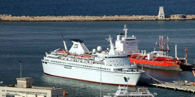 Cruiser Salamis Filoxenia Embarks in Haifa