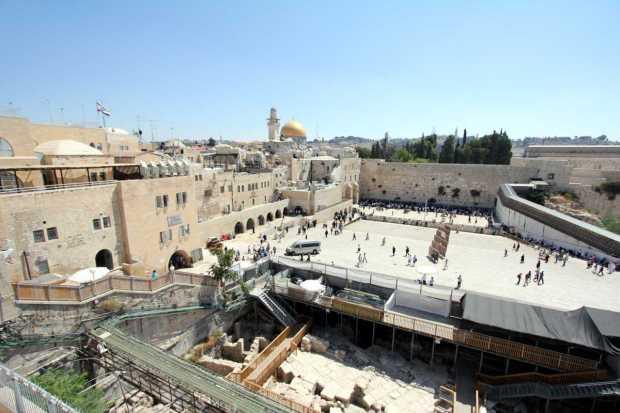 Jerusalem in Three Days: Western Wall (Wailing Wall)
