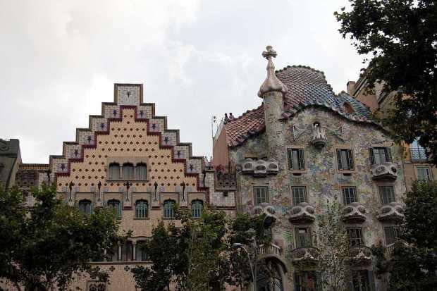 Gaudi Architecture: Casa Batlló, Barcelona