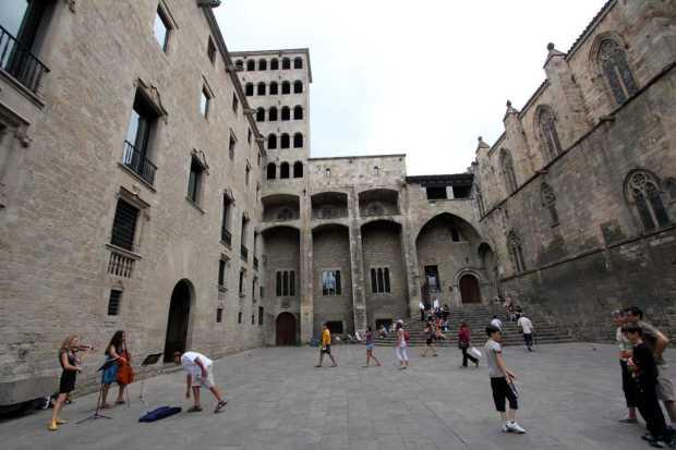 Place del Rei, Barcelona