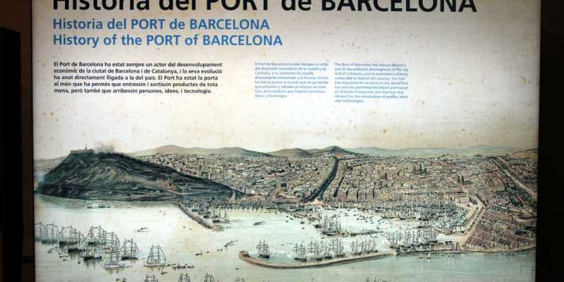History of the Port of Barcelona, Maritime Museum, Barcelona