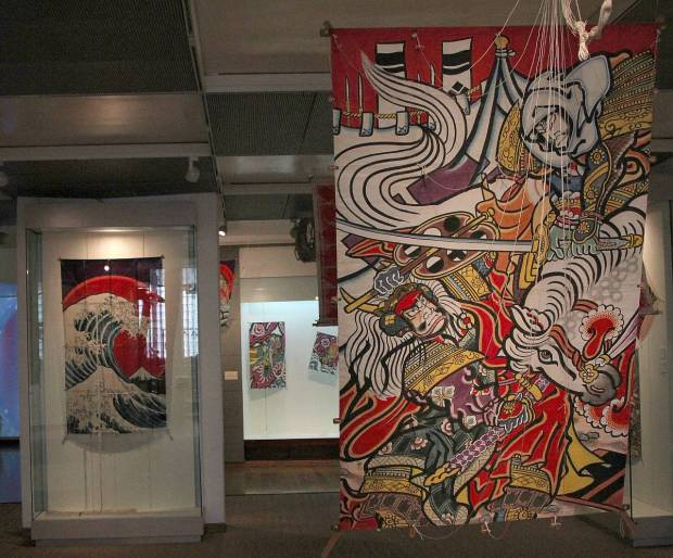 Exhibition of Japanese Kites, Tikotin Museum of Japanese Art, Haifa, Israel