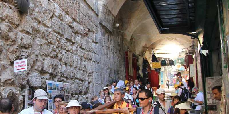 Via Dolorosa - Way of the Cross, Jerusalem