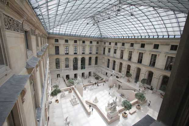 Cour Marly, Louvre, Paris