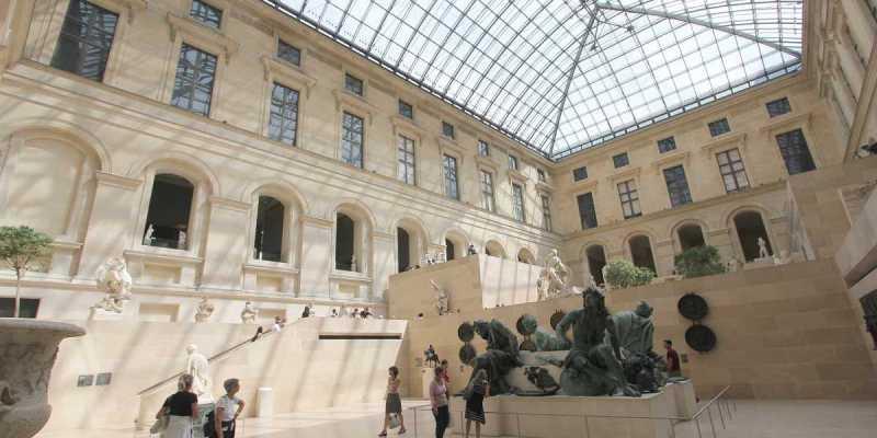 Cour Puget, Louvre, Paris