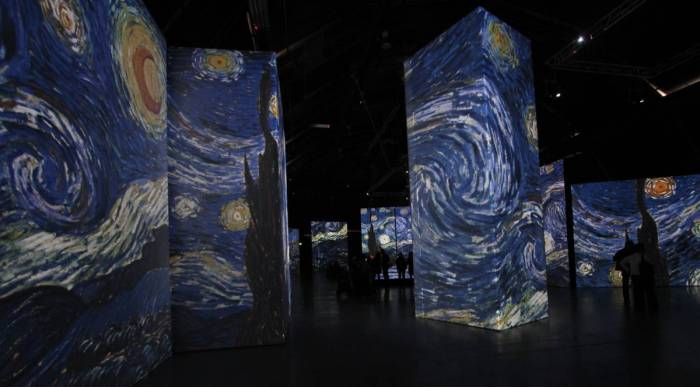Van Gogh Alive Exhibition