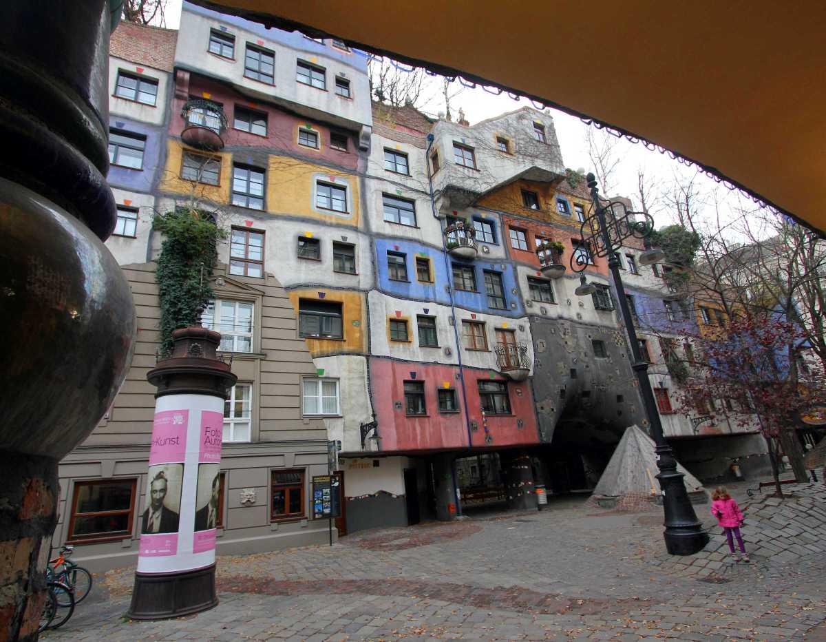 Hundertwasser House Vienna